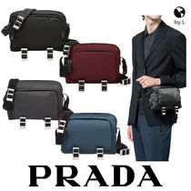 PRADA Plain Messenger & Shoulder Bags
