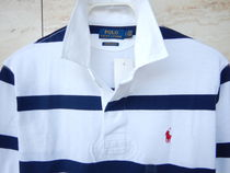 Ralph Lauren Polos Stripes Street Style Long Sleeves Cotton Polos Surf Style 5