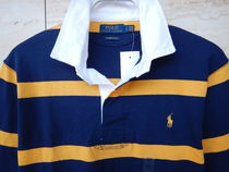 Ralph Lauren Polos Stripes Street Style Long Sleeves Cotton Polos Surf Style 7