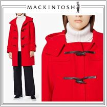 MACKINTOSH Casual Style Wool Plain Medium Duffle Coats