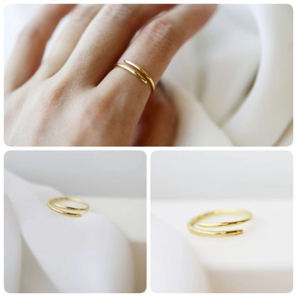 E and E PROJECT Silver Elegant Style Rings