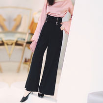 Casual Style Street Style Plain Long Culottes & Gaucho Pants