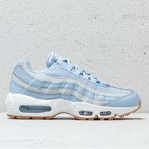 Nike AIR MAX 95 Stripes Plain Toe Rubber Sole Lace-up Casual Style Unisex