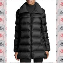 MONCLER TORCYN Cashmere Plain Long Down Jackets
