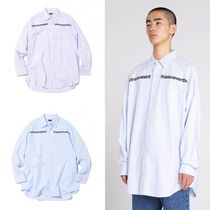 thisisneverthat Korean Street Style [THISISNEVERTHAT] MI-Logo Oxford Shirt