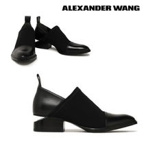 Alexander Wang Plain Toe Casual Style Plain Leather Loafer Pumps & Mules