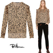 Ron Herman Leopard Patterns Casual Style Nylon Long Sleeves Medium