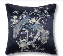 Laura Ashley Plain Characters Decorative Pillows