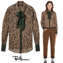 Ron Herman Flower Patterns Leopard Patterns Casual Style Nylon