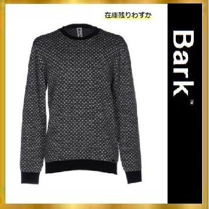 U-Neck Long Sleeves Cotton Knits & Sweaters