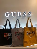 Guess Casual Style Unisex Plain Shoppers