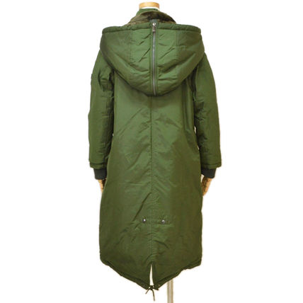 TATRAS Nylon Plain Long Khaki Bridal Parkas