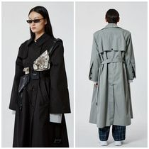 more than dope Unisex Long Oversized Trench Coats
