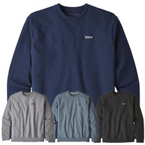 Patagonia Crew Neck Sweat Long Sleeves Plain Long Sleeve T-Shirts