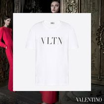 VALENTINO Crew Neck Cotton Medium Short Sleeves Oversized T-Shirts