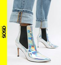 ASOS Casual Style Pin Heels Ankle & Booties Boots