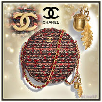 CHANEL Chain Elegant Style Shoulder Bags
