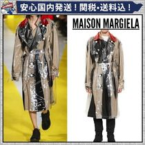 Maison Martin Margiela Plain Long Trench Coats