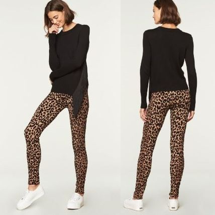 Leopard Patterns Skinny Pants