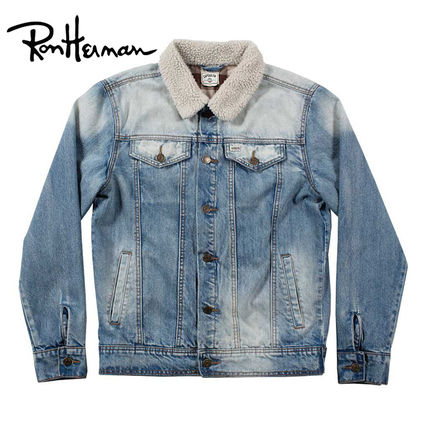 Short Denim Street Style Plain Handmade Denim Jackets