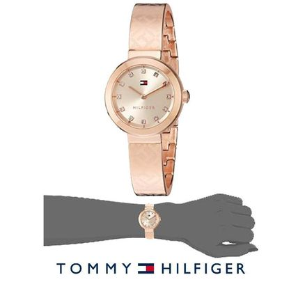 18b090dc ... Tommy Hilfiger Analog Casual Style Round Quartz Watches Analog Watches  ...