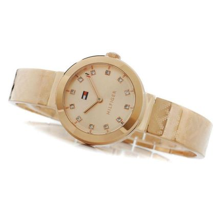 56ed04e5 ... Tommy Hilfiger Analog Casual Style Round Quartz Watches Analog Watches  3 ...
