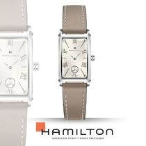 Hamilton Casual Style Leather Square Quartz Watches Analog Watches