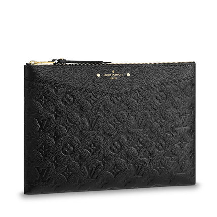 Louis Vuitton Clutches Monogram Leather Clutches 2