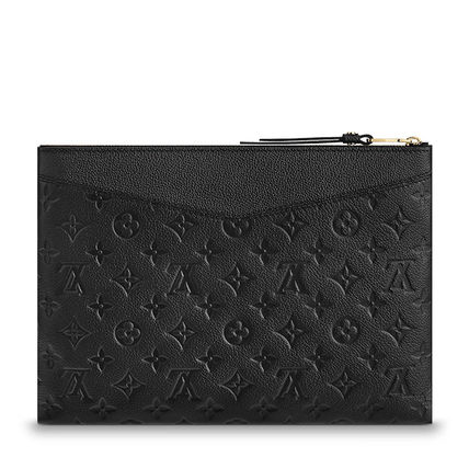 Louis Vuitton Clutches Monogram Leather Clutches 6