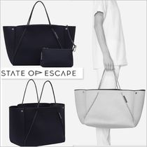 Ron Herman Casual Style A4 Plain Office Style Totes