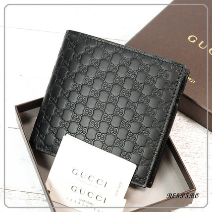 c885dbe7c36 ... GUCCI Folding Wallets Monogram Leather Folding Wallets ...