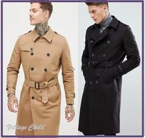 ASOS Plain Long Trench Coats