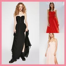 Free People Maxi Plain Long Party Style Dresses