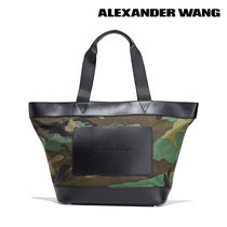 Alexander Wang Camouflage Casual Style Unisex Blended Fabrics Street Style