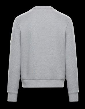 MONCLER Sweatshirts Crew Neck Pullovers Unisex Blended Fabrics Street Style 6