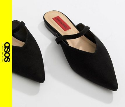 Casual Style Faux Fur Slip-On Shoes