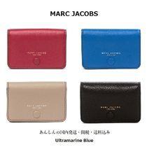 MARC JACOBS Plain Leather Card Holders