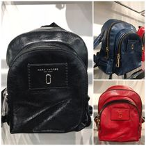 MARC JACOBS Casual Style Plain Backpacks