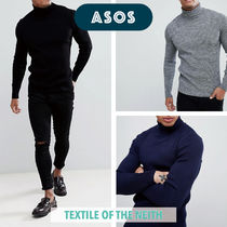 ASOS Pullovers Long Sleeves Plain Knits & Sweaters