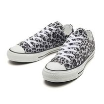 CONVERSE ALL STAR Leopard Patterns Unisex Street Style Sneakers
