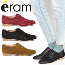 eram Casual Style Plain Leather Loafer & Moccasin Shoes