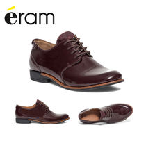 eram Casual Style Plain Leather Bold Loafer & Moccasin Shoes