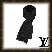 Louis Vuitton MONOGRAM Flower Patterns Monogram Wool Fringes Accessories