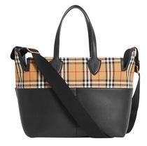 Burberry Blended Fabrics Mothers Bags