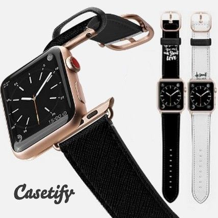 casetify More Watches Casual Style Unisex Leather Watches