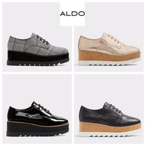 ALDO Glen Patterns Platform Casual Style Faux Fur Street Style