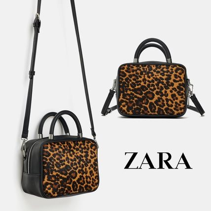 Leopard Patterns Straw Bags