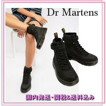 Dr Martens Mountain Boots Round Toe Rubber Sole Casual Style Plain