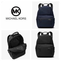 Michael Kors Nylon Plain Backpacks