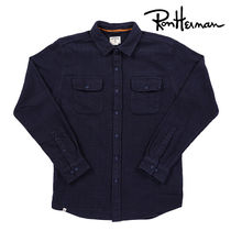 Ron Herman Street Style Long Sleeves Cotton Handmade Shirts